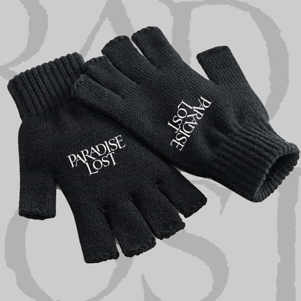 Paradise Lost - 'Logo' Fingerless Gloves - Paradise Lost