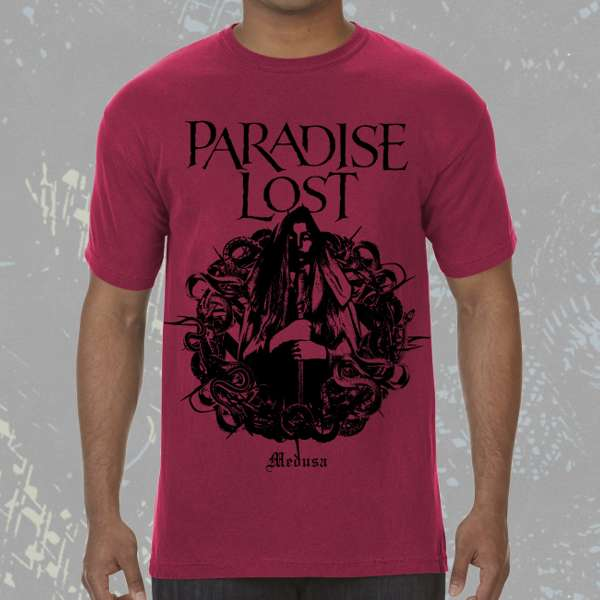 Paradise Lost - 'Medusa Red' T-Shirt - Paradise Lost