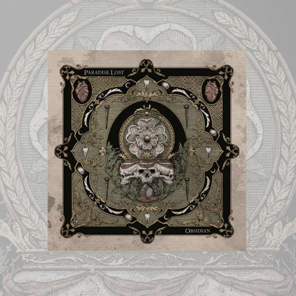 Paradise Lost - 'Obsidian' CD - Paradise Lost