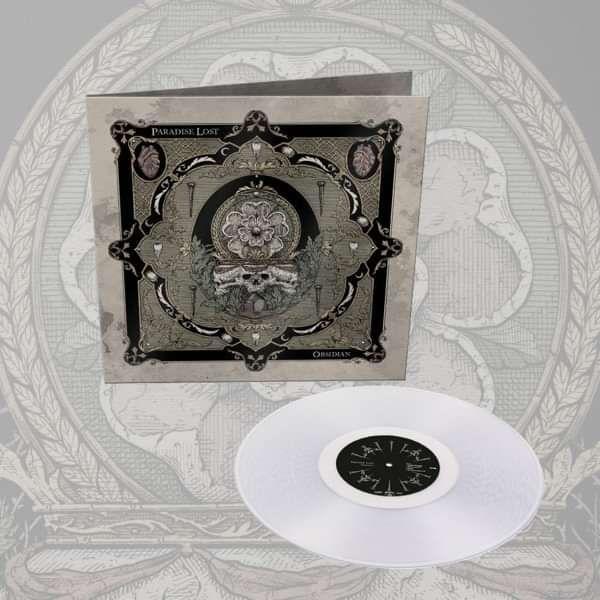 Paradise Lost - 'Obsidian' Clear Vinyl LP - Paradise Lost