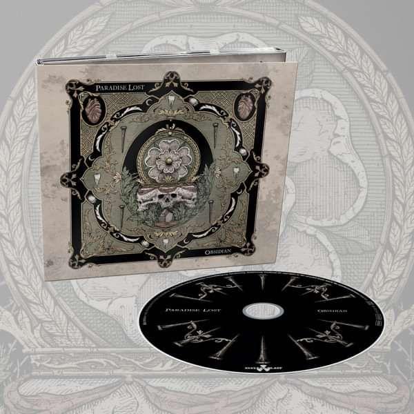 Paradise Lost - 'Obsidian' Digipack CD - Paradise Lost