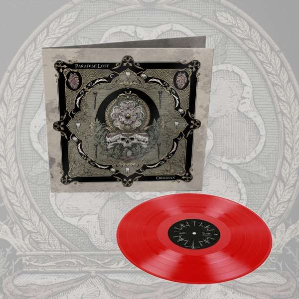 Paradise Lost - 'Obsidian' *EXCLUSIVE* Red Vinyl LP - Paradise Lost