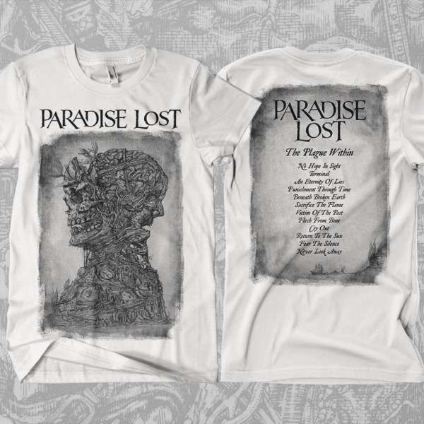 Paradise Lost - 'Plague Tracks' T-Shirt - Paradise Lost