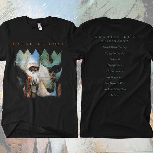 Paradise Lost - 'Shades of God' T-Shirt - Paradise Lost