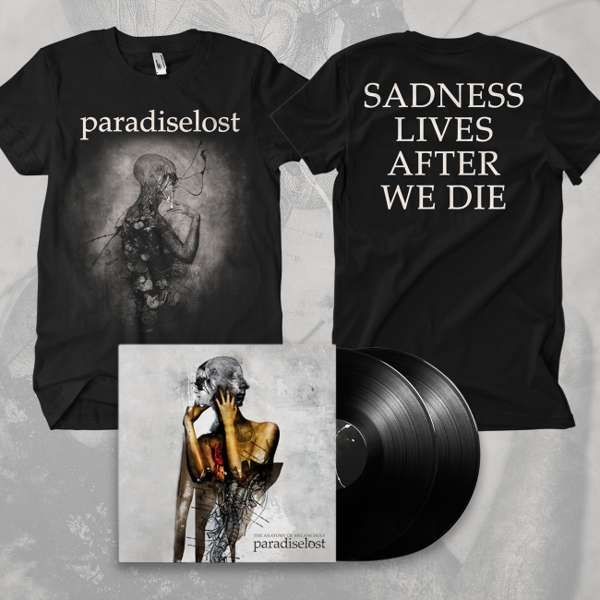 Paradise Lost - 'The Anatomy of Melancholy' Black Gatefold 2LP + T-Shirt Bundle - Paradise Lost