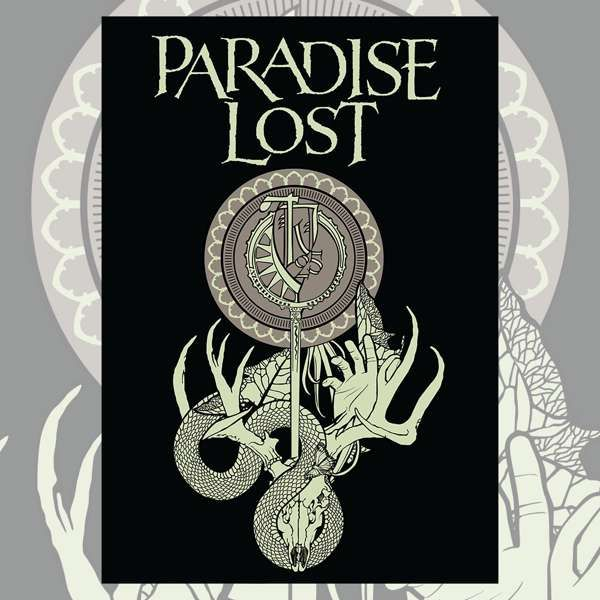 Paradise Lost - Tragic Illusion Flag - Paradise Lost