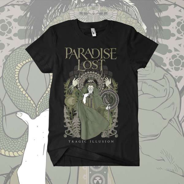 Paradise Lost - 'Tragic Illusion' T-Shirt - Paradise Lost