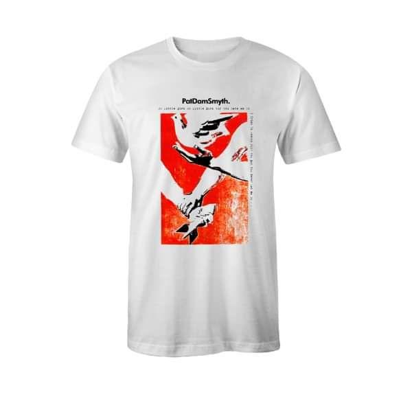 Pat Dam Smyth Dove T-Shirt - Pat Dam Smyth