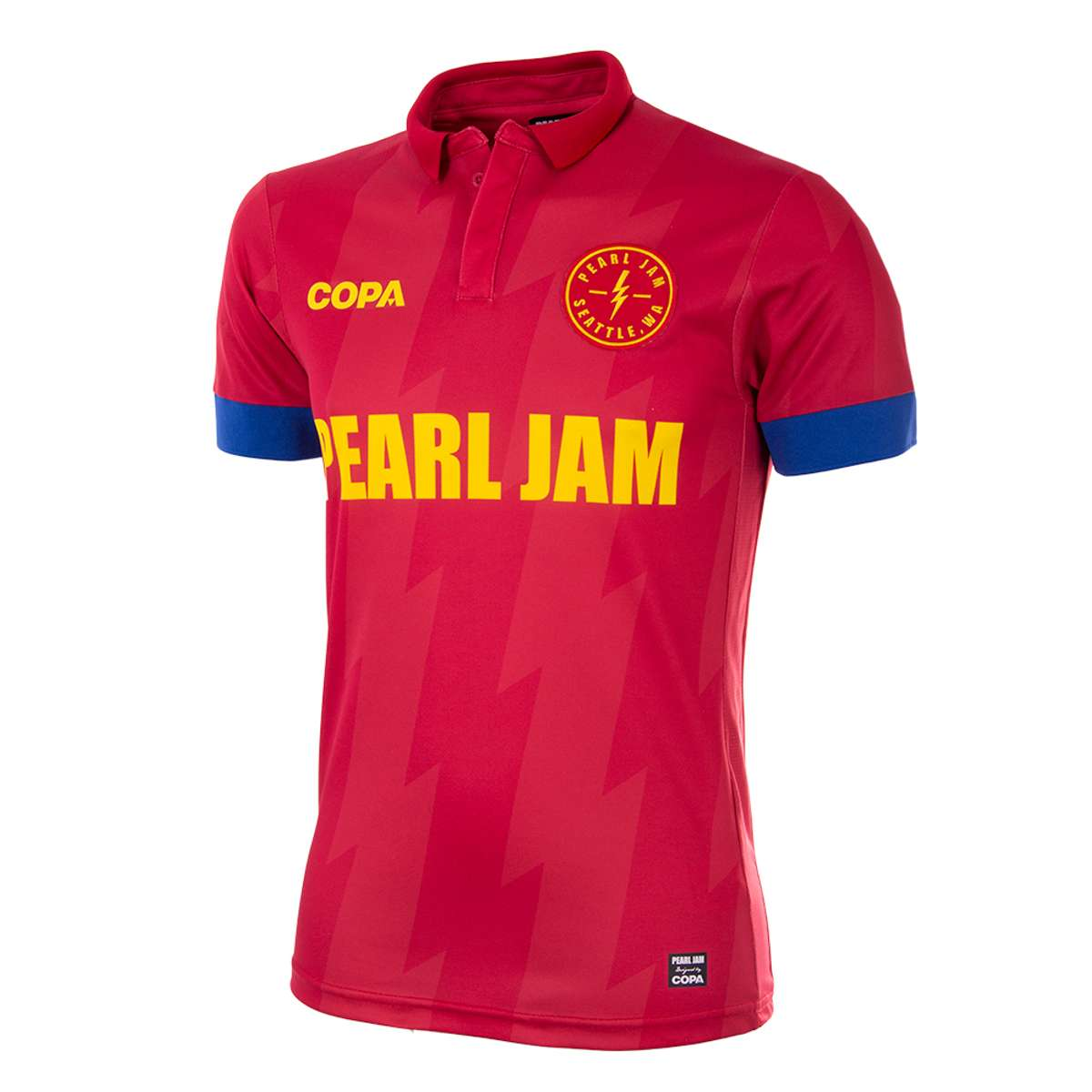 Spain – Soccer Shirt - Pearl Jam