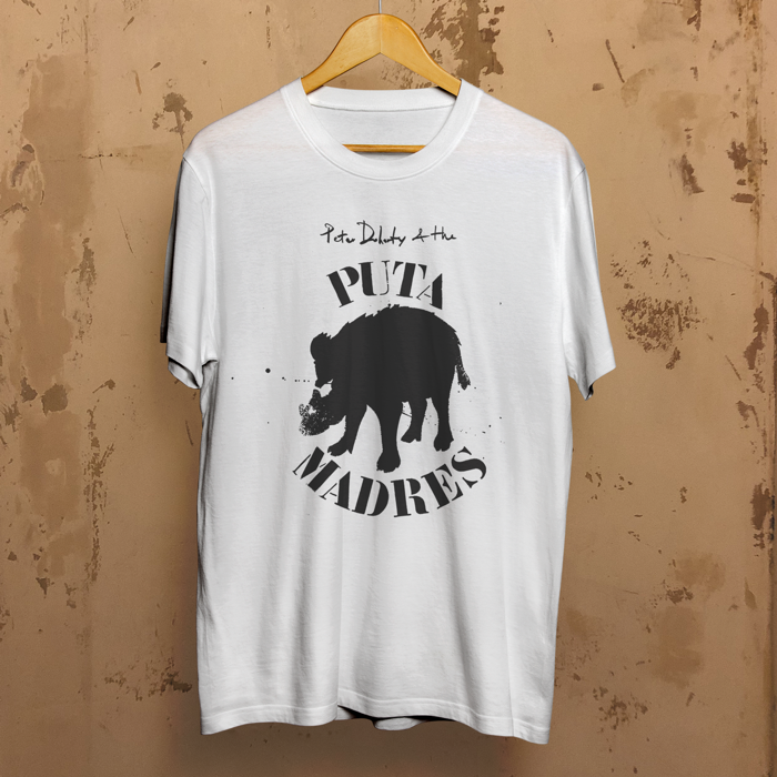 Puta Madre T Shirt white - Pete Eudaimonism