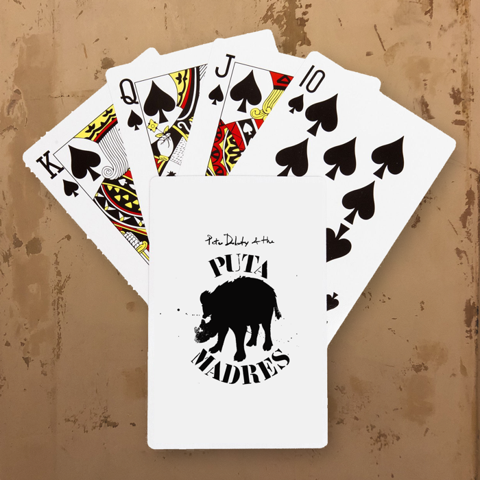 Puta Madres playing cards - Pete Eudaimonism