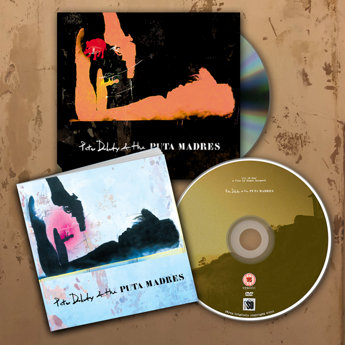Peter Doherty and The Puta Madres - Deluxe CD - PeteEudaimonism