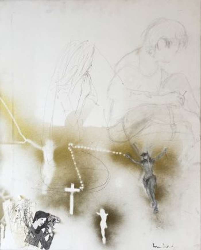 'Gold Reserves Crucifix' Fine Art Print - Strap Originals Ltd/Peter Doherty
