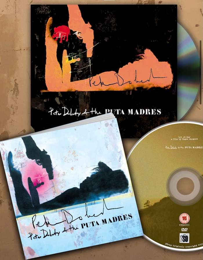SIGNED Peter Doherty and The Puta Madres Deluxe CD - Strap Originals Ltd/Peter Doherty