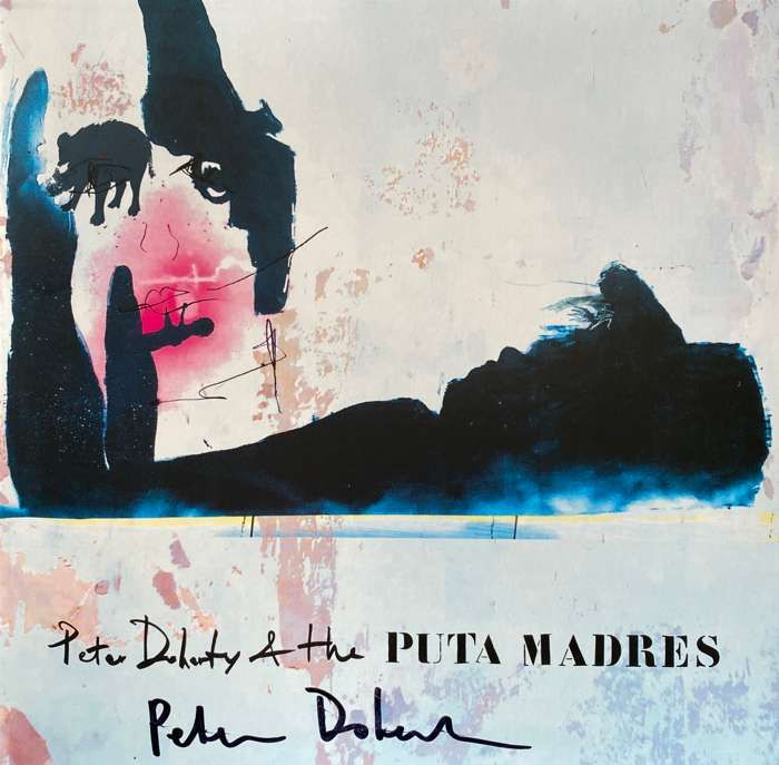 SIGNED Peter Doherty & The Puta Madres Deluxe Clear Vinyl - Strap Originals Ltd/Peter Doherty