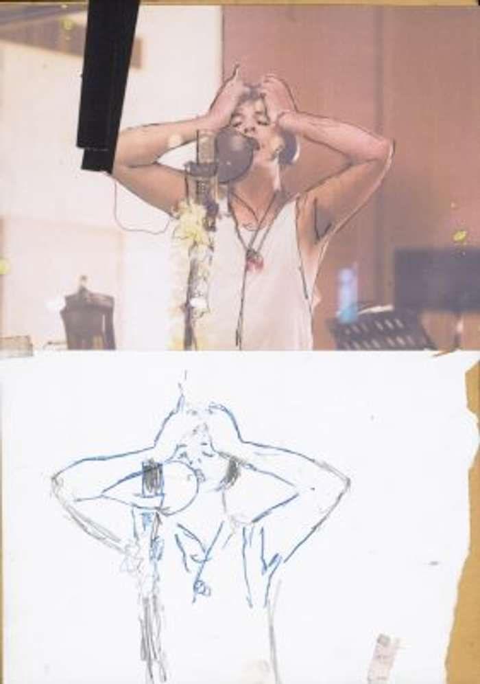 'Vocal Take' Fine Art Print - Strap Originals Ltd/Peter Doherty