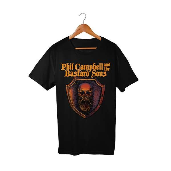Shield T-Shirt - Phil Campbell and the Bastard Sons