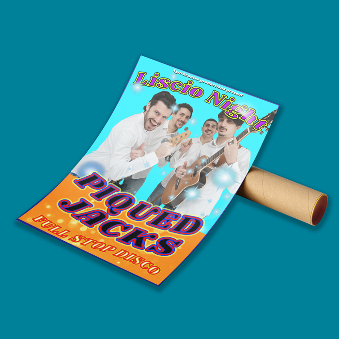 Liscio Night Poster - Piqued Jacks