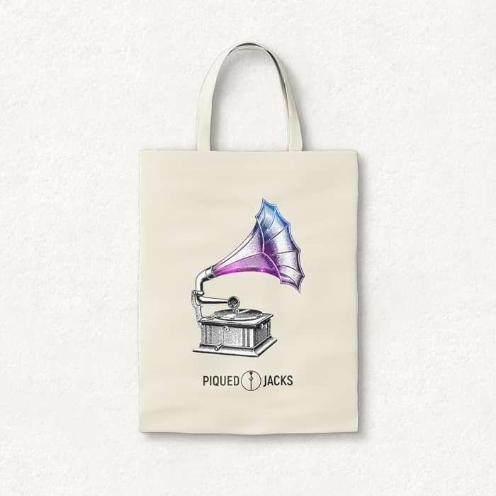 Phonograph Tote Bag - Piqued Jacks