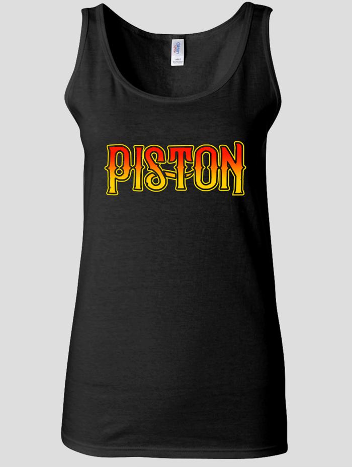 Piston Black Vest - Ladies - Piston