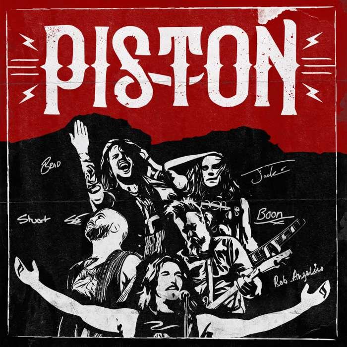 PISTON DEBUT ALBUM (2019) - CD - * SIGNED BY PISTON * - Piston