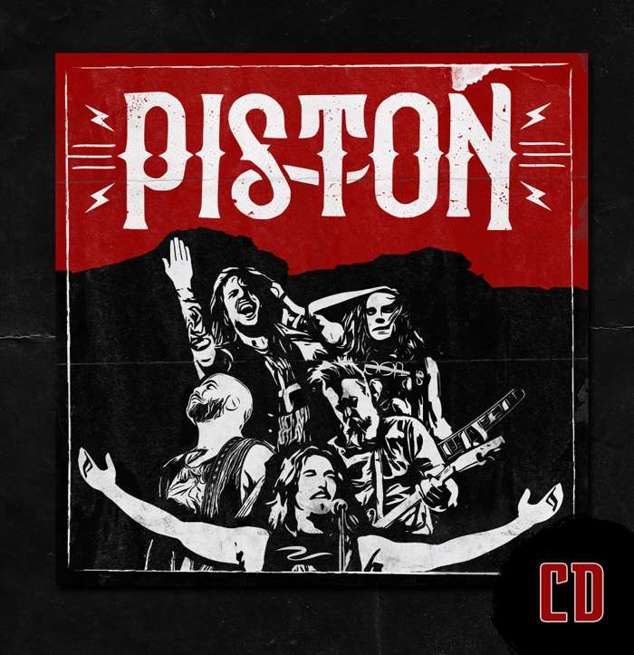 PISTON DEBUT ALBUM (2019) - CD - Piston
