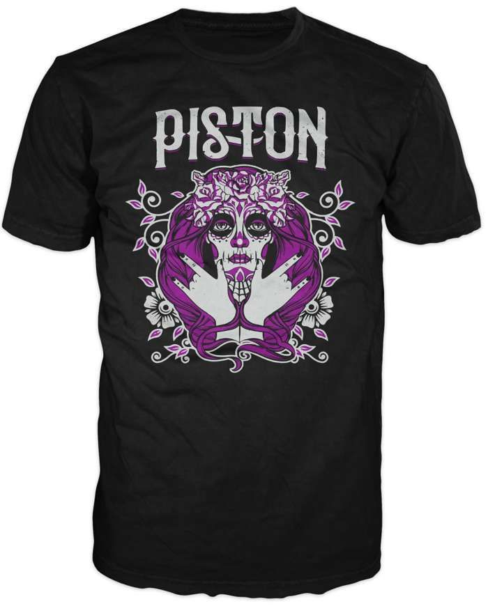 Piston Voodoo Mens T Shirt - Piston