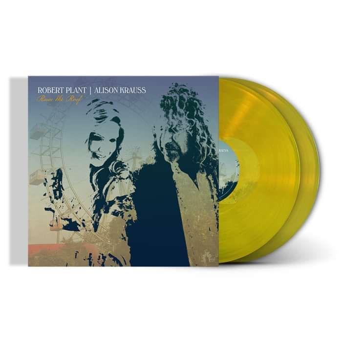 Raise The Roof - Translucent Yellow Vinyl 2LP - Plant Krauss US