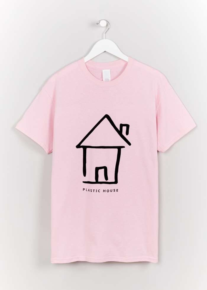 PINK HOUSE TEE - Plastic House