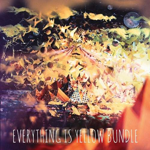 Everything is Yellow T-Shirt and Vinyl EP Bundle - Plasticmermaids