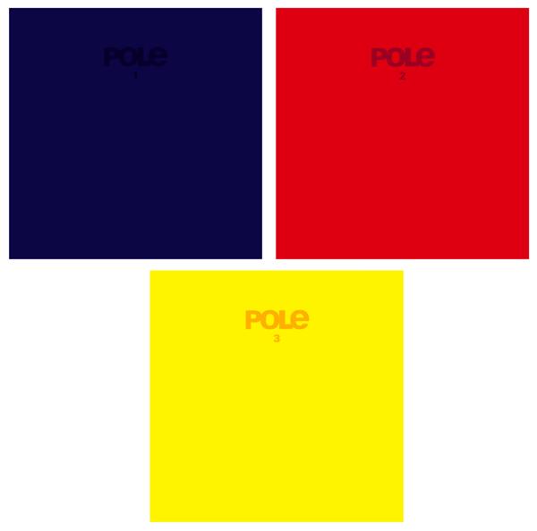 Pole - 1, 2, 3 Individual LPs - Pole