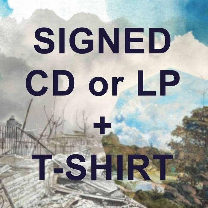 Haiku T-shirt + There Is No Elsewhere BUNDLE - PRAH Recordings