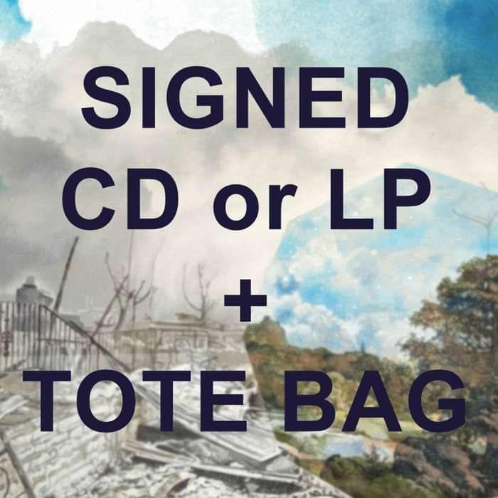 Haiku Tote Bag + There Is No Elsewhere BUNDLE - PRAH Recordings