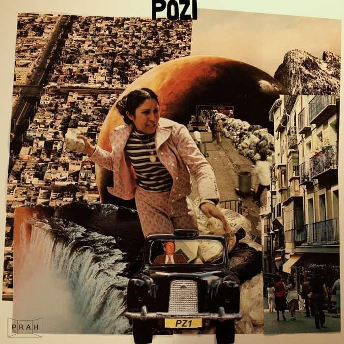 Pozi - PZ1 (CD) - PRAH Recordings