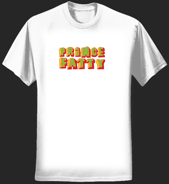 Prince Fatty Logo design T-Shirt - Prince Fatty