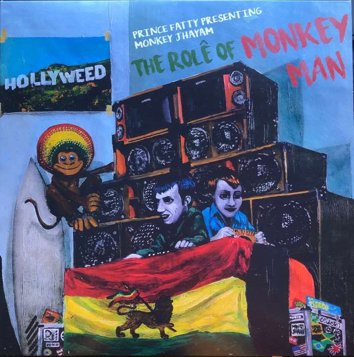 "Prince Fatty presenting Monkey Jhayam ' The Role of Monkey Man' - 12"" Vinyl - Prince Fatty"