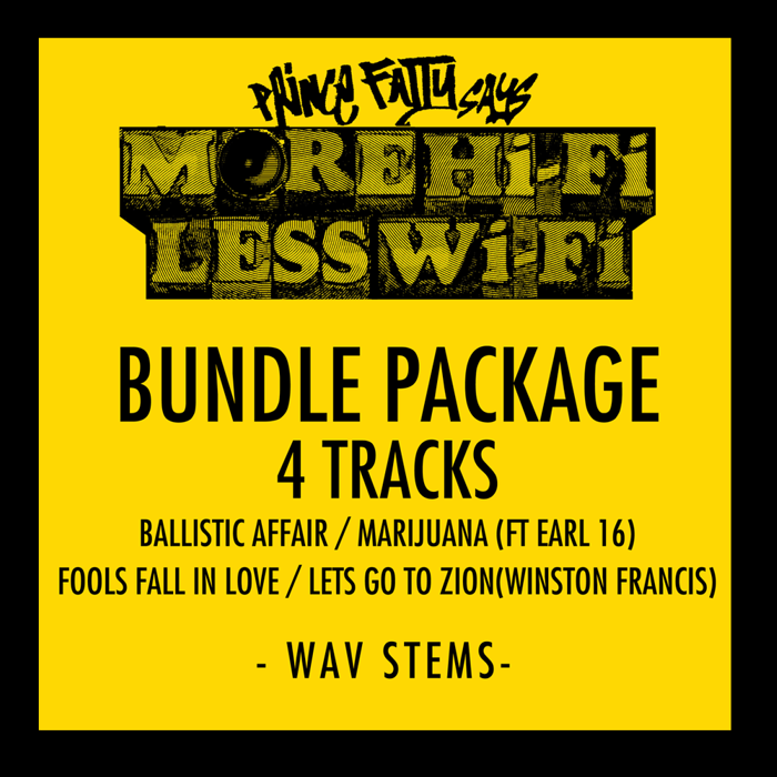 Stems - 4 Track Bundle - Prince Fatty
