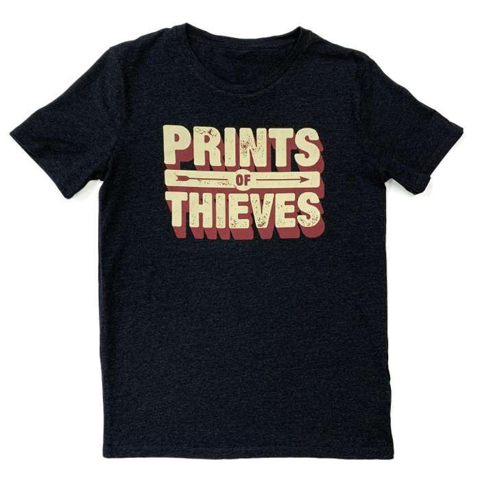 Short Sleeve T-shirt - Prints of Thieves