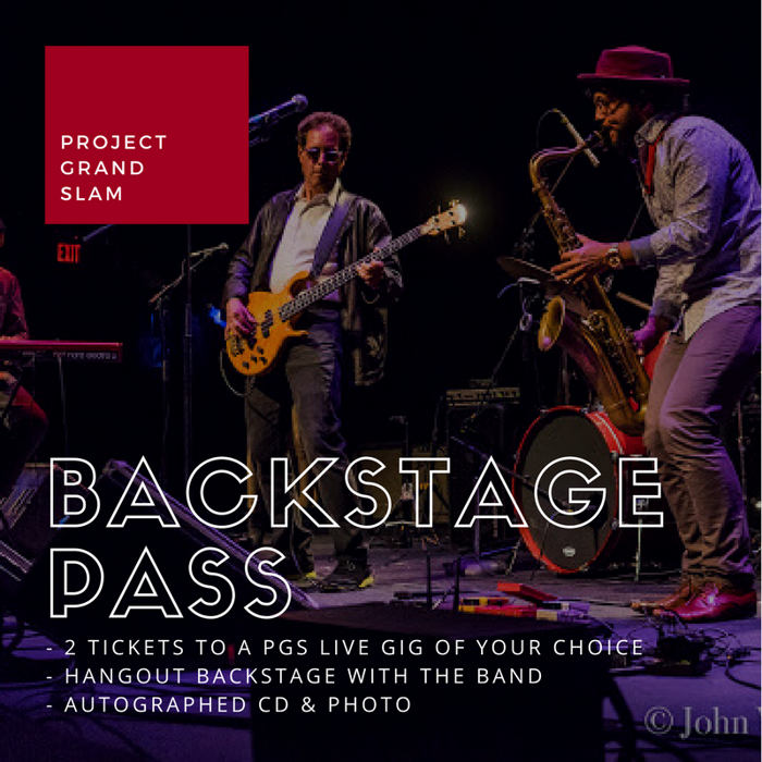 Backstage Pass - Project Grand Slam