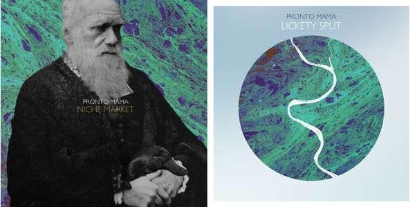 Pronto Mama Physical EP's- 'Niche Market'/ 'Lickety Split' - Pronto Mama