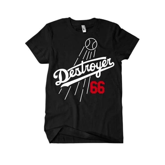 Destroyer 66 T-Shirt   Black - Puig Destroyer
