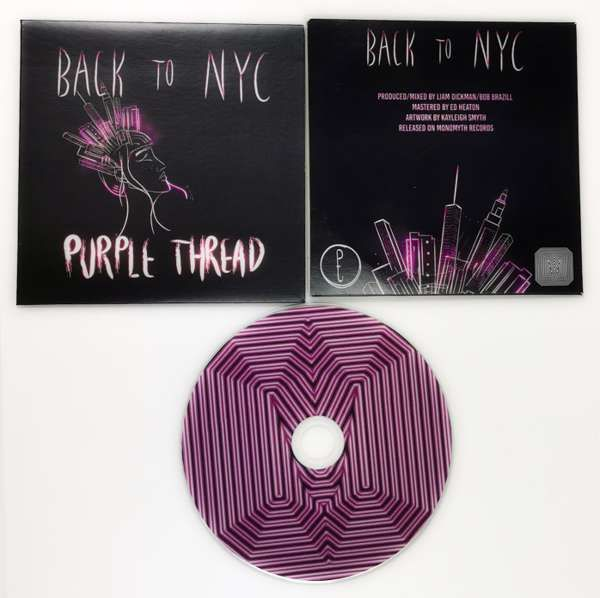 Back To NYC CD - Purple Thread