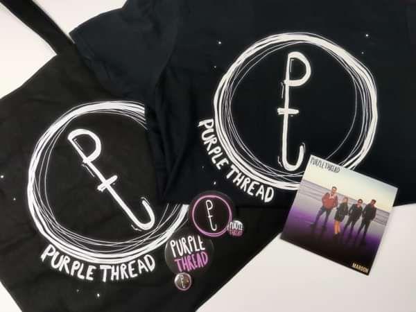 Maroon Bundle - Purple Thread