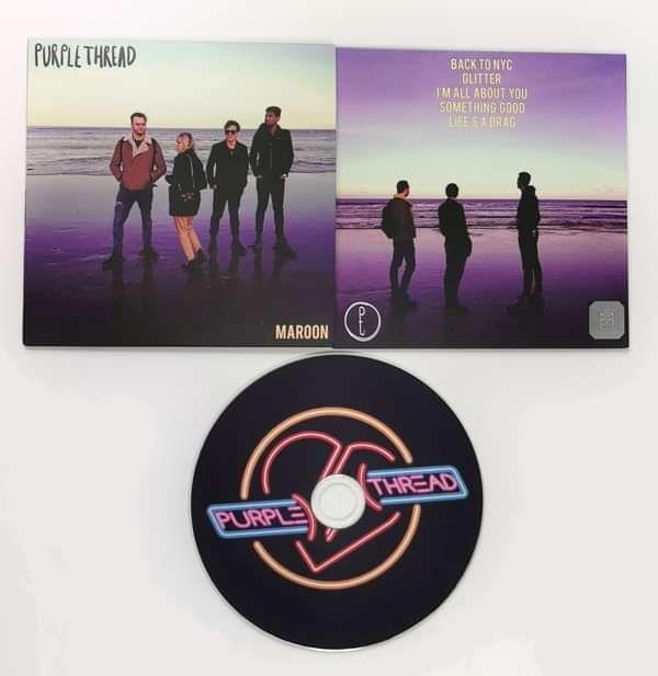 Maroon CD - Purple Thread