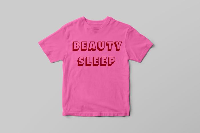 Beauty Sleep T-shirt - Quiet Arch
