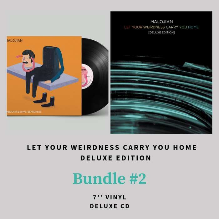 Let Your Weirdness Carry You Home (Deluxe Edition) BUNDLE #2 - Quiet Arch