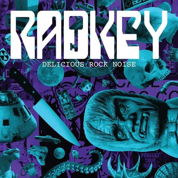 Delicious Rock Noise CD - Radkey