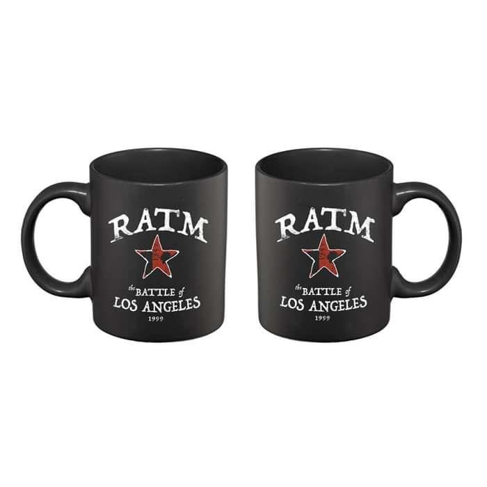 Battle Star – Mug - Rage Against the Machine