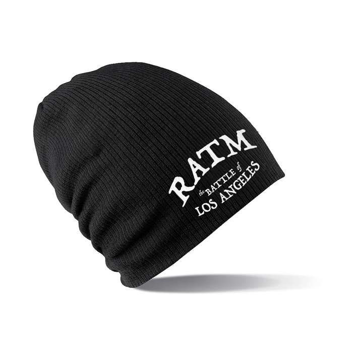 BOLA – Embroidered Slouch Beanie - Rage Against the Machine