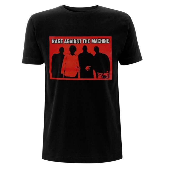 Faceless – Black Tee - Rage Against the Machine